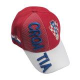남자 여자 면 조정가능한 3D 자수 야구 모자 모자