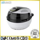 Figura rotonda Airfryer con ETL, LFGB, GS, Ce, RoHS, CB