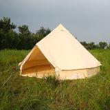5m Baumwollsegeltuchtipi-Zelt-Luxuxrundzelt mit Markise für Verkauf