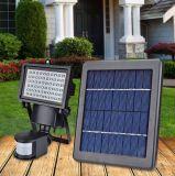 На солнечной энергии 3 Вт светодиод датчика Montion прожектор