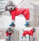 Настроить водонепроницаемый прочный ПВХ PU щенка собака куртка