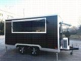 Caravane mobile en acier de la restauration 2017
