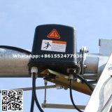 端フィールドステアリングボックス中心のピボット用水系統タワーボックス