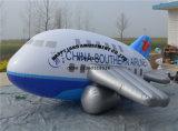 Aereo di aria di pubblicità gonfiabile del Airbus dello Zeppelin dell'aerostato