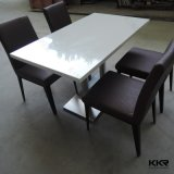 Kingkonree Custom Modern Round Solid Surface Hot Pot Table