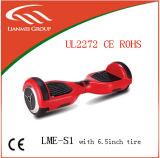 scooter intelligent d'équilibre de la roue 6.5inch 2 pour la vente chaude avec le certificat UL2272