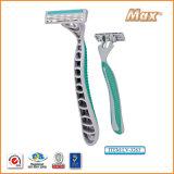 Rasoio di rasatura a perdere della pala triplice dell'acciaio inossidabile di alta qualità (LV-3262)
