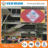 Mur polychrome d'Afficheur LED de la publicité extérieure dans la rue