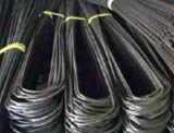 Fil galvanisé de relation étroite du fil U de relation étroite enduit par PVC
