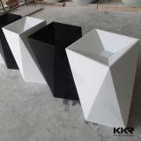 ماس تصميم بيضاء وسوداء اصطناعيّة رخاميّ قاعدة بالوعة ([ب1705028])