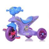 Triciclo plástico novo do bebê dos PP com músicas e luz