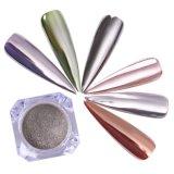 Polvere acrilica del chiodo dello specchio di scintillio del gel del chiodo del bicromato di potassio dello specchio di effetto del commercio all'ingrosso UV del pigmento
