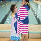 Baumwollkinder 100%, die Poncho-Tuch ändern