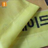 Bandiera abrasiva della maglia del tessuto del poliestere di resistenza