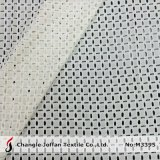 La dentelle de coton épais tissu pour vêtement (M3395)