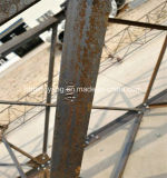 Galvanisation à chaud 4 pattes Telecom Lattice Tour d'acier angulaires