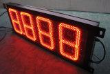 Indicadores de preços de gasolina LED Indicador de tempo digital Indicadores de preço do combustível Exposição da estação de gás LED