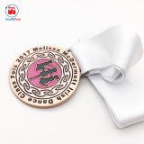 La danse irlandaise de métal de la mode personnalisé Médaille pour enfant