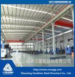 Kundenspezifisches vorfabriziertes Stahlkonstruktion-Rahmen-Lager mit Träger
