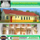 Costruzione della struttura d'acciaio/casa mobile/Camera modulari prefabbricate/prefabbricate del contenitore