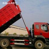 Único cilindro ativo cromado do petróleo hidráulico para o caminhão de descarga Front-End da maquinaria