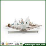 Étalage acrylique fait sur commande de bijou de modèle neuf