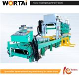 Journal de grande précision hydraulique complet bande horizontale de la machine de scie
