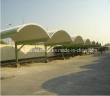 Projet de construction du Pavillon de l'arche de Bohai formant la machine