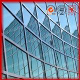 Спрятанная и, котор подверганная действию алюминиевая стеклянная стена Cutain