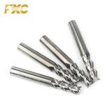 Fabrico Fxc carboneto de tungsténio extremidade quadrada Mills para cortar as ligas de alumínio