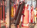 Cilindri idraulici agenti doppio a più stadi caldo di vendita del grande