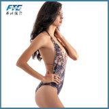 Einteilige Badeanzug-Schwimmen-Abnützung-reizvolle Form-Bikini-Badebekleidung