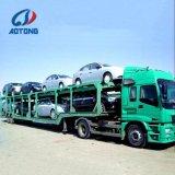 Heavy Duty Double/6/8Tri l'essieu pour les voitures du transport de remorques de transporteur de voiture