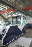 boot van de Snelheid van de Visserij van het Aluminium van de Catamaran van 10m de Zee