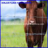 Vente en gros galvanisée de frontière de sécurité de bétail de fil de fer de joint de charnière