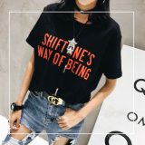 Пользовательские Hot-Selling хлопка женщин футболка с печатной платы