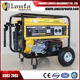 16HP Engine 7kVA Gerador de Gasolina para Uso Doméstico com Pega e Rodas