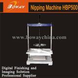 Boway Imprenta Manual Libro Pulse Flatting Smashing Nipping pulsando máquina Hbp500