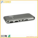 Kleiner Miniprojektor WiFi drahtloser Bildschirm-Anschluss mit iPhone/Mobile/PC etc.