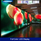 Qualität P7.62 1/8s farbenreiche bekanntmachende LED-Innenbildschirmanzeige