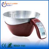 grande échelle de cuisine de cuvette de mélange de l'acier inoxydable 11lb/5