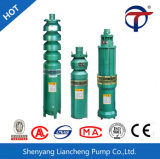 Pompe électrique de sous-marin de puits profond d'irrigation agricole de Qj