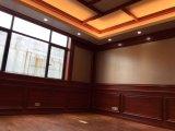 Bois d'intérieur et panneau de mur en plastique du composé WPC et plafonds de PVC