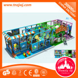 Labirinto interior Naughty Castle equipamentos de playground