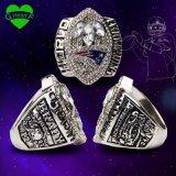 La más nueva talla oficial 2004 del anillo de campeonato del MVP Brady de Li del Super Bowl de los patriotas de Nueva Inglaterra del desbloquear 8 9 10 11 12 13