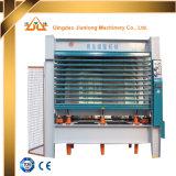 10 слоев машины давления Woodworking переклейки гидровлической горячей