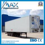 세 배 차축 55-75cbm에 의하여 냉장되는 밴 Semi-Trailer 또는 냉장된 트레일러