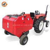 農業機械の販売のための小型円形の干し草の梱包機の梱包装置