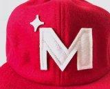 Surtidor del sombrero del casquillo del Snapback de la insignia de las lanas del fieltro