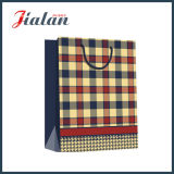 Бронзовый горячий штемпелюя мешок OEM Kraft таможни бумажный для одежды
